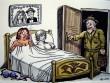 """""""Bức tượng"""" tội nghiệp trong phòng ngủ"""