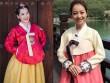 """Gái Hàn Hari Won """"lép vế"""" màn diện Hanbok của Mi Du, Huyền Baby"""