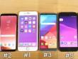 """RAM nhỏ, iPhone 7 vẫn """"vượt mặt"""" Galaxy S8 và LG G6 về hiệu suất"""