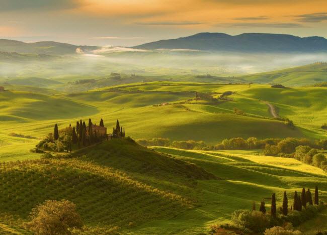 Vùng Tuscany, Italia.