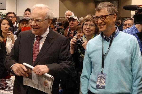 Bill Gates, Warren Buffett sẽ làm gì nếu mất hết và quay về vạch xuất phát? - 1