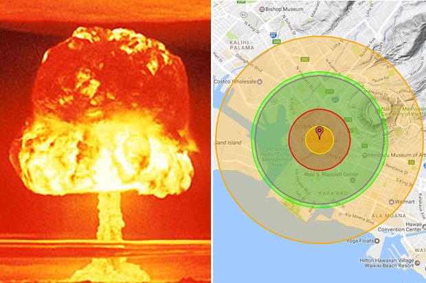 Điều gì xảy ra nếu Triều Tiên nã tên lửa hạt nhân Hawaii? - 1