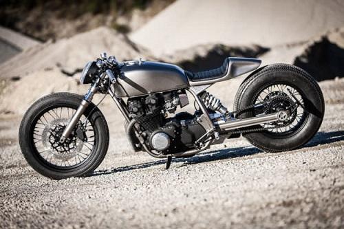 """Honda CB900 độ đậm chất """"lai"""" của Christian Klein - 6"""