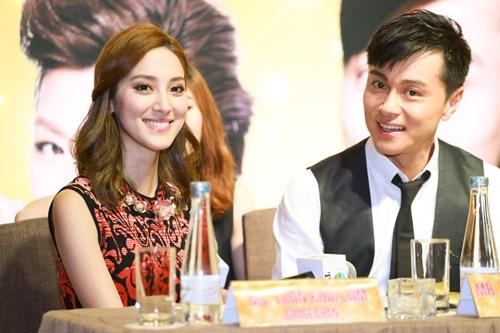 """Hoa hậu Hong Kong """"phát hờn"""" với nhan sắc bạn gái Ngô Kiến Huy - 7"""