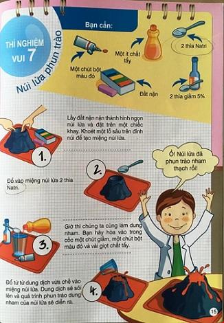 Phụ huynh hoảng hốt vì sách dạy trẻ làm thí nghiệm sai - 2