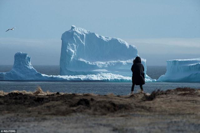 """Mở cửa nhà, giật mình thấy núi băng """"mọc"""" sừng sững trước mặt - 1"""