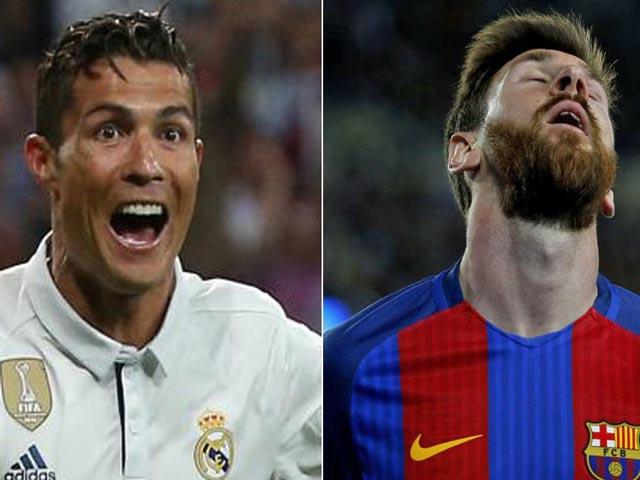 Trước thềm Siêu kinh điển, Messi và Ronaldo… hôn nhau