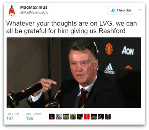 Rashford cứu MU: Fan ví với Ronaldo, cảm ơn Van Gaal - 2