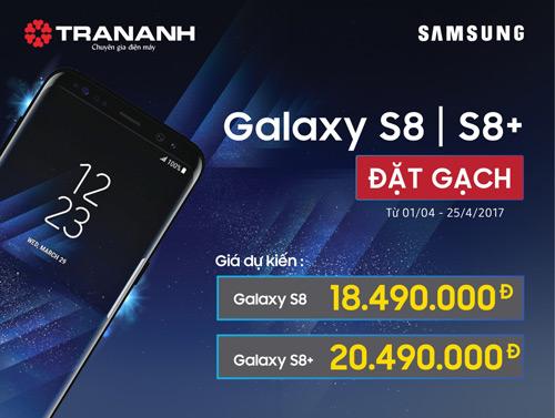 Đặt trước Samsung Galaxy S8 & S8 Plus, nhận bộ quà trị giá 4 triệu đồng - 2
