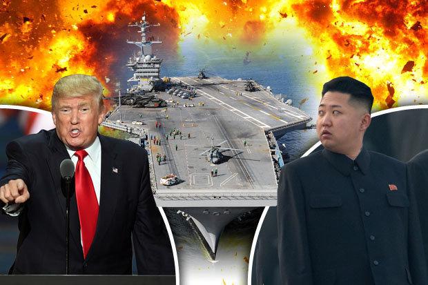 """Tàu sân bay """"trái lệnh"""" đến Triều Tiên: Đòn gió của Trump? - 1"""