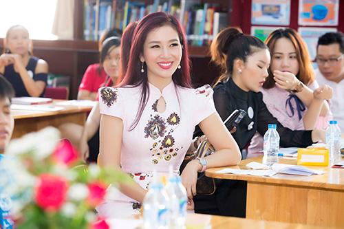 Á hậu Thu Hương - Đồng hành cùng Trường Quốc Tế Bắc Mỹ SNA - 1