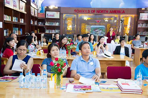Á hậu Thu Hương - Đồng hành cùng Trường Quốc Tế Bắc Mỹ SNA - 7