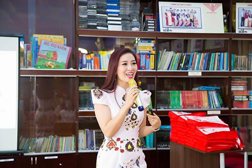 Á hậu Thu Hương - Đồng hành cùng Trường Quốc Tế Bắc Mỹ SNA - 4
