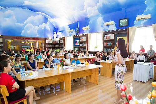 Á hậu Thu Hương - Đồng hành cùng Trường Quốc Tế Bắc Mỹ SNA - 5