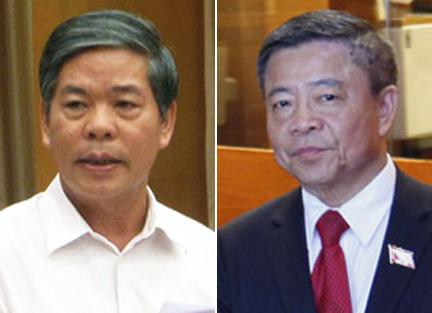 Kỷ luật cảnh cáo ông Võ Kim Cự và nguyên Bộ trưởng Nguyễn Minh Quang - 1