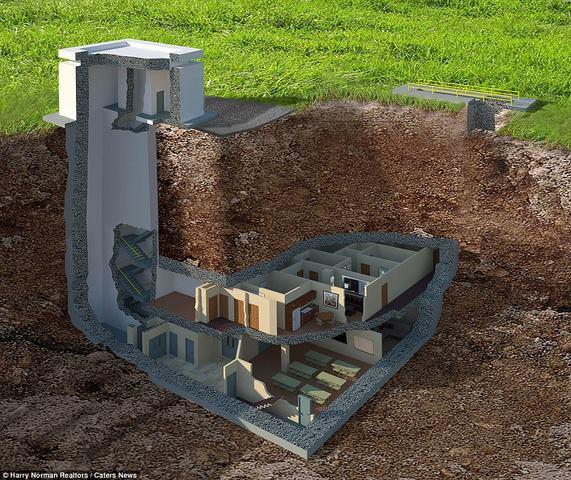 Hầm tránh bom hạt nhân 400 tỉ siêu sang ở Mỹ - 1