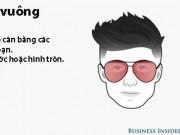 """Đồ họa: Cách chọn kính râm theo gương mặt đàn ông  """" chuẩn chỉnh """""""