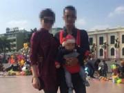 Người bố xả thân bảo vệ con khi bị truy sát không phải giang hồ