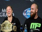 """""""Nữ hoàng UFC"""" đính hôn gã vũ phu: Ngôi sao sắp tàn"""