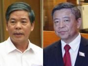 Kỷ luật cảnh cáo ông Võ Kim Cự và nguyên Bộ trưởng Nguyễn Minh Quang