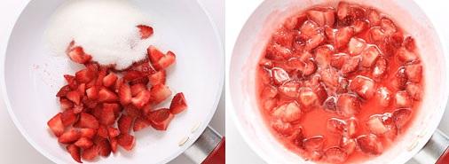 Cách làm sữa chua dâu tây ngọt mát cực đơn giản - 7