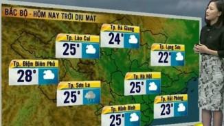 Dự báo thời tiết VTV22/4: Bắc Bộ dịu mát, Nam Bộ giảm nhiệt
