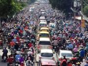 Cấm xe máy thì đi bằng xe gì?