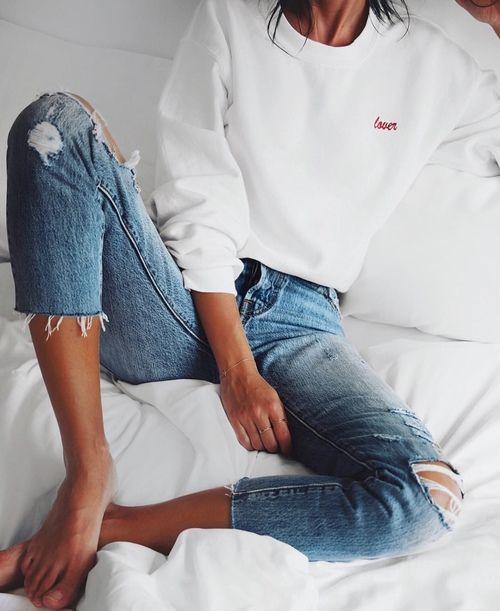 Đây là lý do bạn sai lầm khi vứt đi chiếc quần jeans cũ - 1