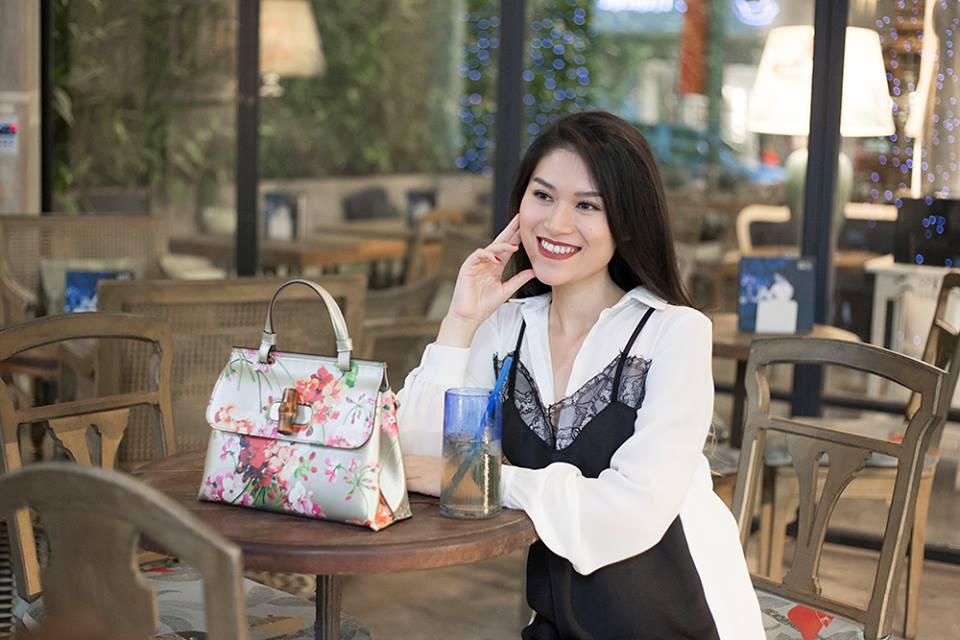 Học con gái nuôi xinh đẹp của Đàm Vĩnh Hưng mix phục trang hè - 10