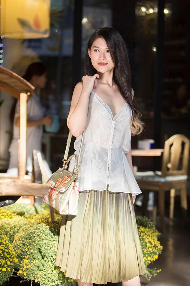 Học con gái nuôi xinh đẹp của Đàm Vĩnh Hưng mix phục trang hè - 13