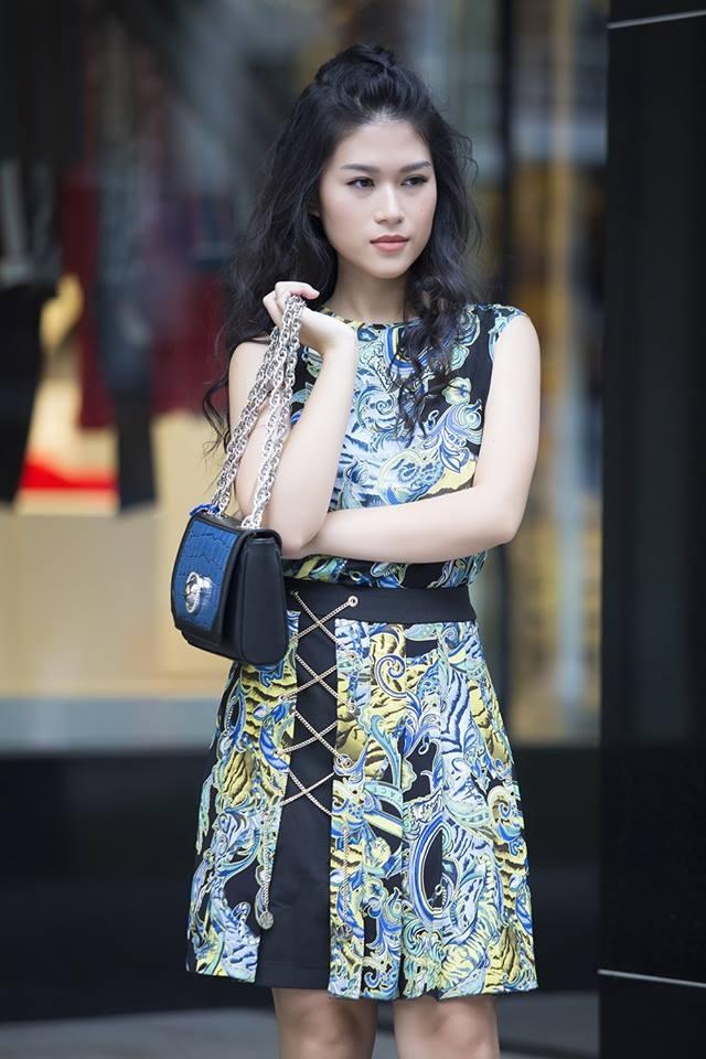 Học con gái nuôi xinh đẹp của Đàm Vĩnh Hưng mix phục trang hè - 14