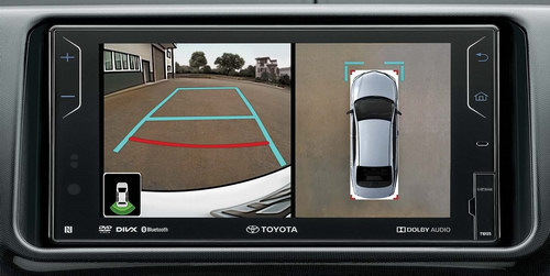 Toyota Vios thêm phần lợi hại với camera 360 độ - 2