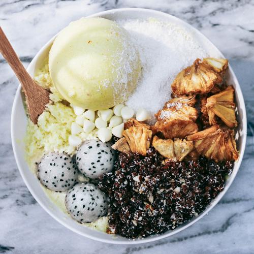 Kem chay: Món ăn thách thức nắng nóng mùa hè lẫn mỡ thừa - 3
