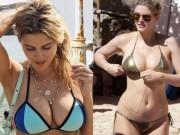 """Cả bãi biển """"đứng hình"""" với bikini siêu hot của mỹ nữ cuồng Chelsea"""