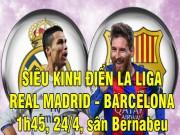 TRỰC TIẾP bóng đá Real Madrid - Barcelona: Dấu hỏi cho Bale