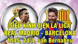 """TRỰC TIẾP bóng đá Real Madrid - Barcelona: Dưới """"cái bóng"""" của Mourinho"""