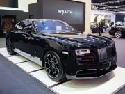 Ngắm Rolls-Royce Wraith Black Badge giá 23 tỷ đồng
