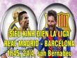 TRỰC TIẾP bóng đá Real Madrid - Barcelona: Bale đá chính, Alcacer thay Neymar