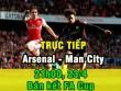 TRỰC TIẾP bóng đá Arsenal - Man City: Sanchez đấu Aguero