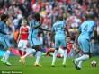 """TRỰC TIẾP Arsenal - Man City: 2 lần khung thành cứu """"Pháo thủ"""""""