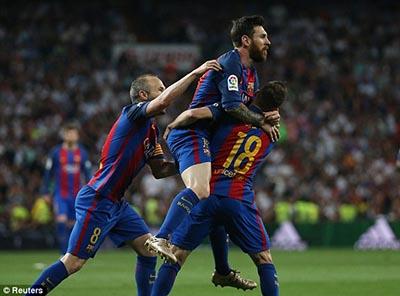 Chi tiết Real Madrid - Barcelona: Tuyệt vời Messi (KT) - 5