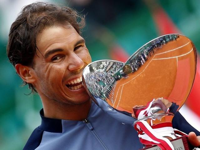 BXH tennis 24/4: Nadal lên số 5, Serena soán