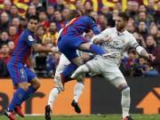 """Xông phi đạp Messi, Vua thẻ đỏ Ramos """"đi tắm sớm"""""""