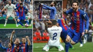 """Messi 500 bàn thắng: """"Siêu nhân"""" thống trị Siêu kinh điển"""