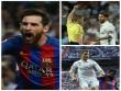 """Chấm điểm Siêu kinh điển: Messi """"lên đỉnh"""", Ronaldo chạm đáy (Infographic)"""