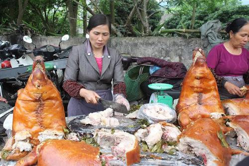 """Ngắm """"rừng"""" lợn quay ở Lạng Sơn, ai cũng phát thèm! - 3"""