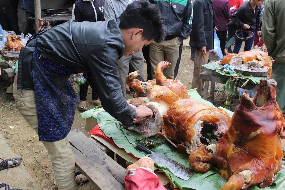 """Ngắm """"rừng"""" lợn quay ở Lạng Sơn, ai cũng phát thèm! - 5"""