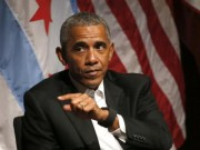 Obama lần đầu tiên xuất hiện trước báo giới sau 3 tháng