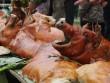 """Ngắm """"rừng"""" lợn quay ở Lạng Sơn, ai cũng phát thèm!"""