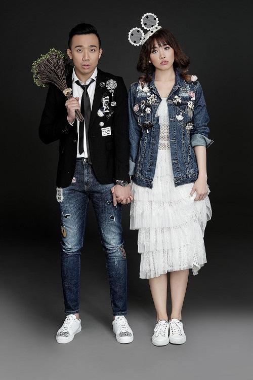Lấy chồng kém tuổi, Khởi My, Hari Won mặc như nữ sinh 18 - 13